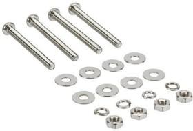 InLine Lüfterschrauben Set für 25mm Lüfter (33371A)