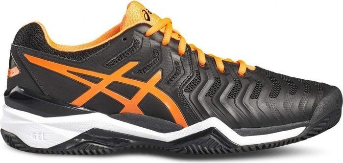dd6d2d8d97 Asics gel-resolution 7 Clay black/shocking orange/white (men) (E702Y ...