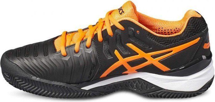 Asics Gel Resolution 7 Clay blackshocking orangewhite (Herren) (E702Y 9030) ab € 59,99