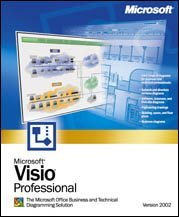 Microsoft Visio 2002 Professional Edition, EDU (angielski) (PC) (D87-00726)