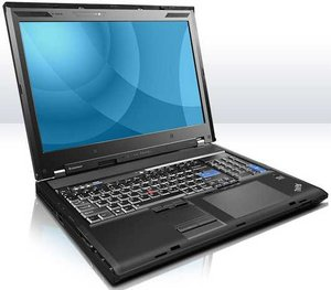 Lenovo ThinkPad W701, Core i7-820QM,  2GB RAM, 500GB HDD, DVD+/-RW (NTX59GE)