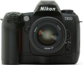 Nikon D100 schwarz inkl. 2GB Microdrive (VBA102MD)