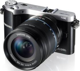 Samsung NX210 schwarz mit Objektiv 18-55mm i-Function