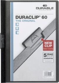 Durable Duraclip 60 Klemm-Mappe A4, schwarz (220901)