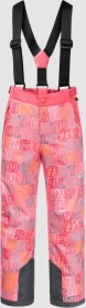 Jack Wolfskin Great Snow Printed Skihose lang coral pink all over (Junior) (1608761-8135)