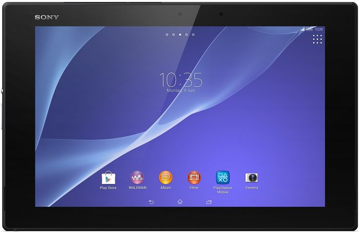 Sony Xperia Tablet Z2 LTE 16GB schwarz (SGP521DE/B / SGP521E1/B)