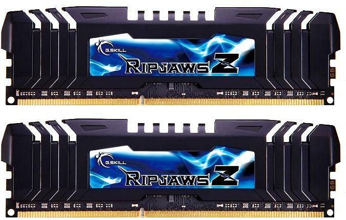 G.Skill RipJawsZ DIMM Kit 16GB, DDR3-1866, CL9-9-9-24 (F3-1866C9D-16GZH)