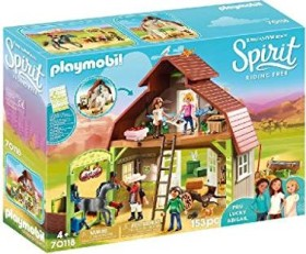 playmobil Spirit - Riding Free - Stall mit Lucky, Pru & Abigail (70118)