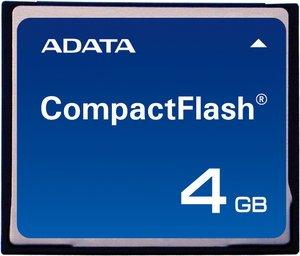 ADATA CompactFlash Card (CF) Speedy 4GB (ACFC004GZZZZZ)