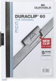 Durable Duraclip 60 Klemm-Mappe A4, weiß (220902)