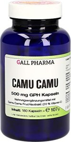 Camu Camu 500mg GPH Kapseln, 180 Stück