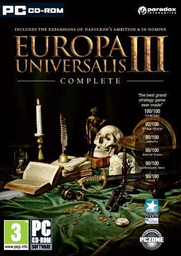 Europa Universalis III - Complete Edition (Download) (English) (PC)
