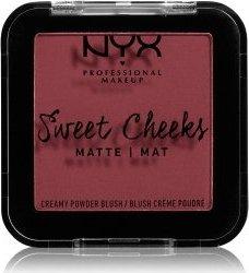 NYX Sweet Cheeks Creamy Powder Blush Matte bang bang, 5g