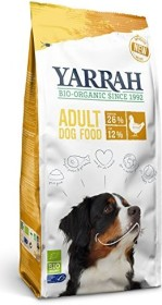 Yarrah Organic Adult Dry Dog Food with Chicken 10.00kg