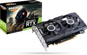 INNO3D GeForce RTX 2070 Twin X2 Rev.2 silber, 8GB GDDR6, HDMI, 3x DP (N20702-08D6-1710VA23)