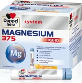 Doppelherz system Magnesium 375 liquid, 30 Stück
