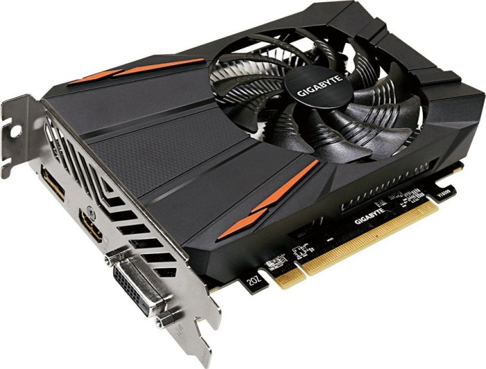Gigabyte Radeon RX 560D OC 4G, 4GB GDDR5, DVI, HDMI, DisplayPort (GV-RX560OC-4GD)