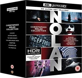 Christopher Nolan Collection (4K Ultra HD)(Blu-ray)