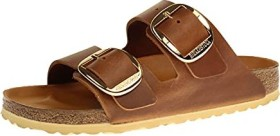 Birkenstock Arizona Big Buckle Nubukleder antique brown (Damen) (1011072/1011073)
