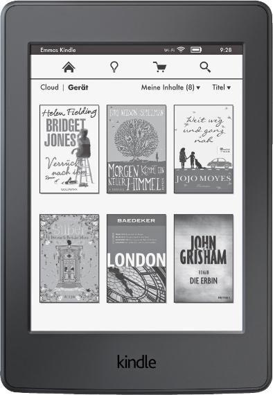 Amazon Kindle Paperwhite 2015 mit Werbung (B00QJDO0QC)