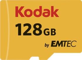 Kodak 580X R85/W20 microSDXC 128GB Kit, UHS-I U1, Class 10 (EKMSDM128GXC10K)