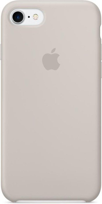 apple silikon case f r iphone 7 steingrau mmwr2zm a ab. Black Bedroom Furniture Sets. Home Design Ideas