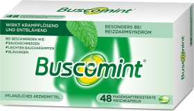 Buscomint gastroresistant soft capsules, 48 pieces