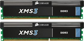 Corsair XMS3 DIMM kit 4GB, DDR3-1600, CL9-9-9-24 (CMX4GX3M2A1600C9)