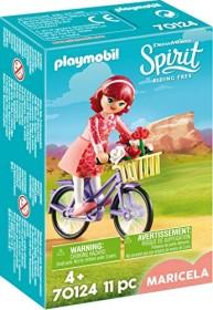 playmobil Spirit - Riding Free - Maricela mit Fahrrad (70124)
