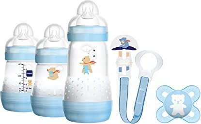 MAM Welcome to the World Arctic Blue Trinkflaschen-Set -- via Amazon Partnerprogramm