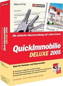 Lexware: QuickImmobilie Deluxe 2005 4.x (PC) (09180-0014)