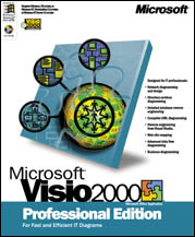 Microsoft: Visio 2000 Professional Edition educational (PC) (D87-00009)