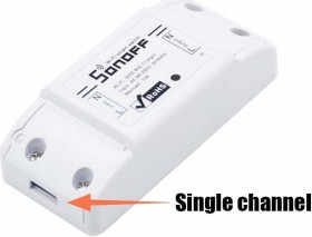 Sonoff Basic WiFi Smart switch, 1-way, wireless switching actuator (IM1710250001)