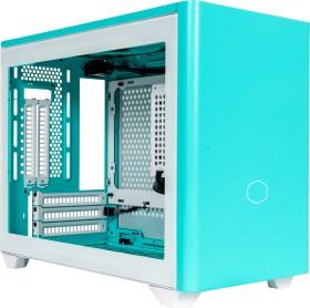 Cooler Master MasterBox NR200P colour Edition, Caribbean Blue, glass window, Mini-ITX (MCB-NR200P-ACNN-S00)