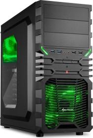 Sharkoon VG4-W grün, Acrylfenster