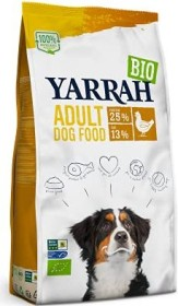Yarrah Organic Adult Dry Dog Food with Chicken 15.00kg