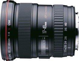 Canon EF 17-40mm 4.0 L USM schwarz (8806A003/8806A007)
