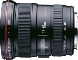 Canon EF   17-40mm 4.0 L USM (8806A003/8806A007)