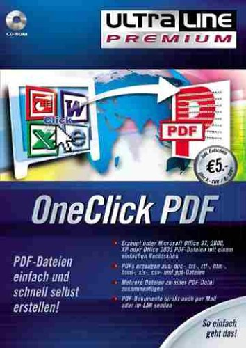 cook media: One click PDF (PC) -- via Amazon Partnerprogramm
