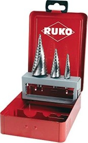 Ruko HSS SP step drill set, 3-piece. (101026)