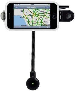 Belkin TuneBase Direct mit Freisprechfunktion für iPod und iPhone Saugnapfhalterung (F8Z442ea)