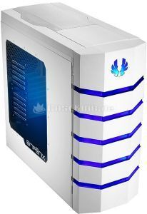 BitFenix Colossus Window white/blue with side panel window (BFC-CLS-500-WWWB1-RP) -- © caseking