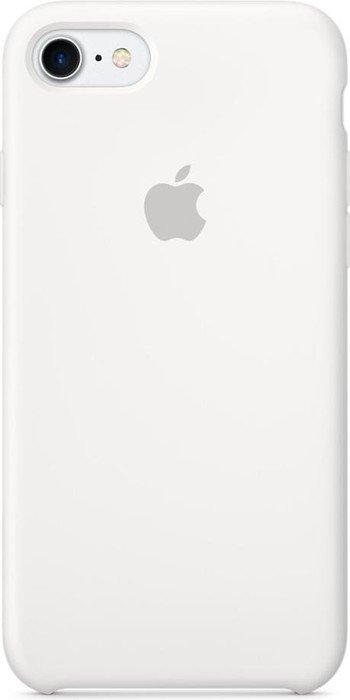 Apple Silikon Case für iPhone 7 weiß (MMWF2ZM/A)