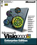 Microsoft: Visio 2000 Enterprise Edition - Update (German) (PC) (D89-00019)
