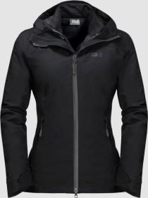 Jack Wolfskin Aurora Sky 3in1 Jacket black (ladies) (1110561-6000)