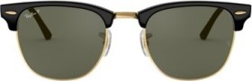 Ray-Ban RB3016 Clubmaster Classic 49mm gloss black/green classic (RB3016-901/58)