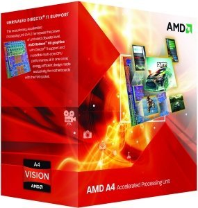 AMD A4-3300, 2x 2.50GHz, boxed (AD3300OJGXBOX/AD3300OJHXBOX)