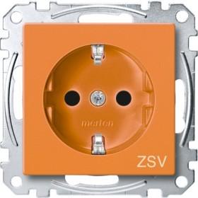 Merten System M SCHUKO-Steckdose, orange (MEG2300-0302)