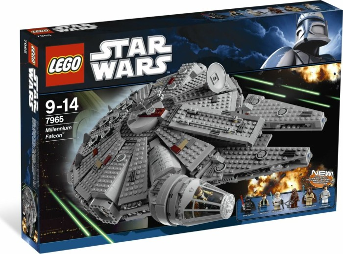 LEGO - Star Wars Episoden I-VI - Millennium Falcon (7965) -- via Amazon Partnerprogramm