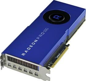 AMD Radeon Pro SSG, 16GB HBM2 + 2TB SSD, 6x mDP (100-506014)